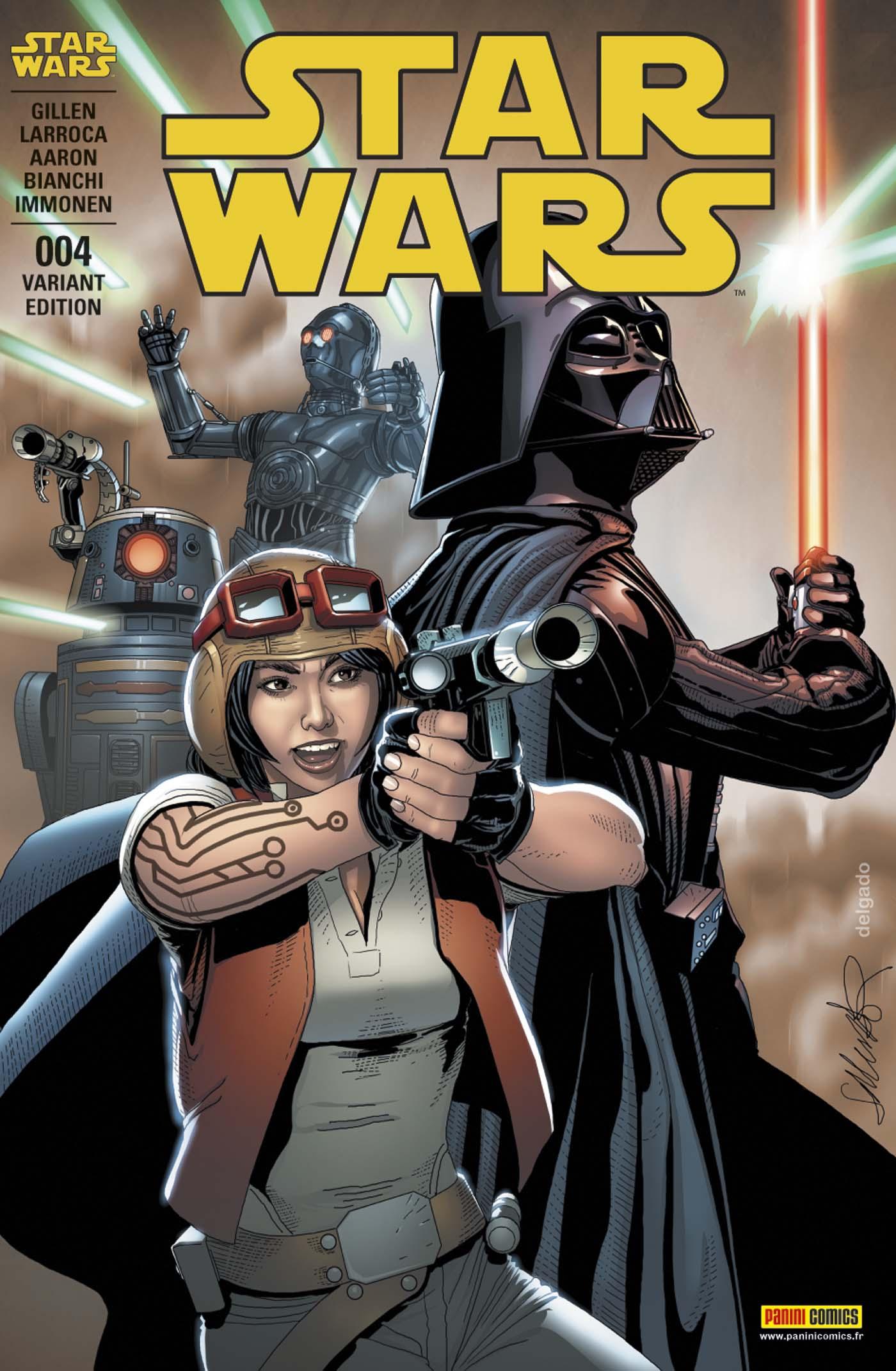 Star Wars 4 - B (Salvador Larroca – tirage 50%)