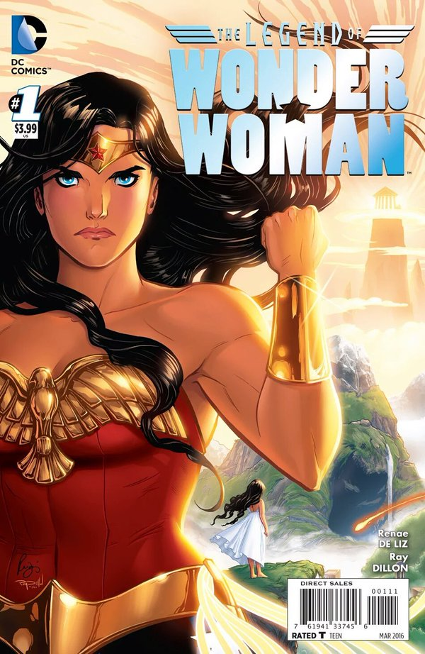 The Legend of Wonder Woman 1 - 1 - cover #1
