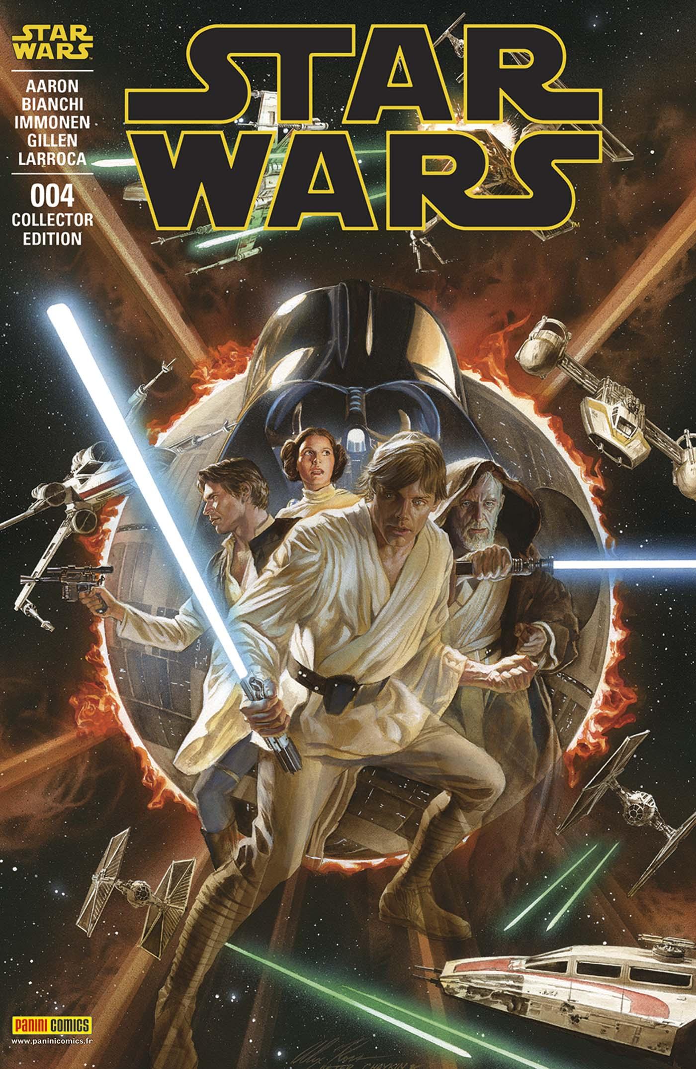 Star Wars 4 - Couverture collector : « coté lumineux de la Force » (Alex Ross – tirage limite a 1.500 exemplaires) + t-shirt L