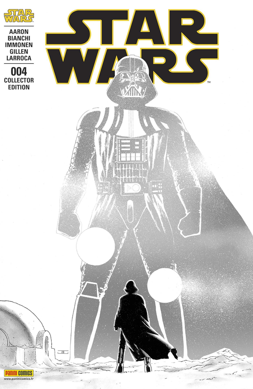 Star Wars 4 - Couverture collector : « cote obscur de la Force » (John Cassaday – tirage limite a 2.000 exemplaires)  + t-shirt L