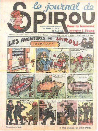 Le journal de Spirou 104