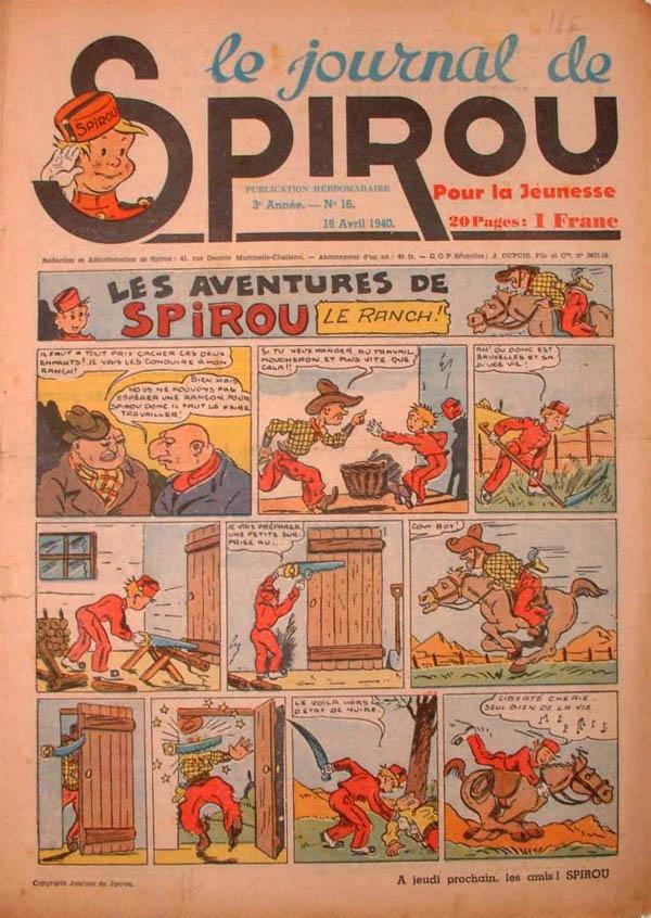 Le journal de Spirou 105