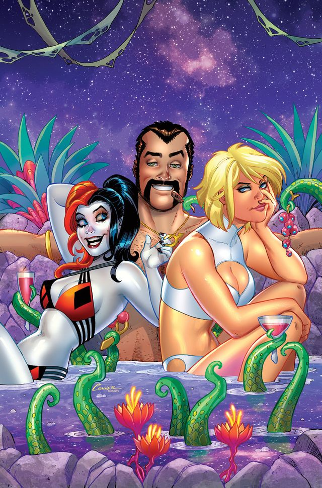 Harley Quinn & Power Girl 5