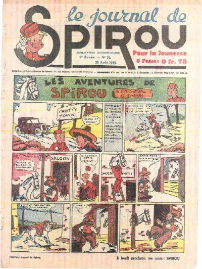 Le journal de Spirou 124