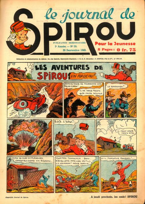 Le journal de Spirou 128