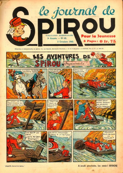 Le journal de Spirou 129