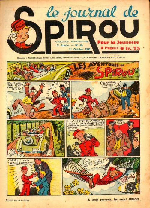Le journal de Spirou 133