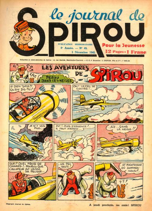 Le journal de Spirou 138