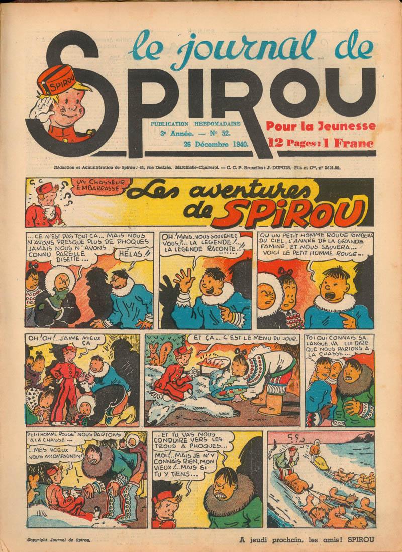 Le journal de Spirou 141