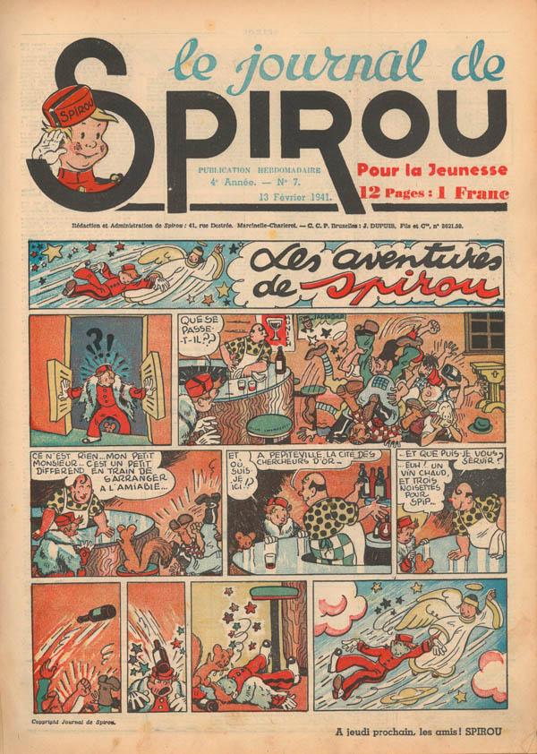 Le journal de Spirou 148