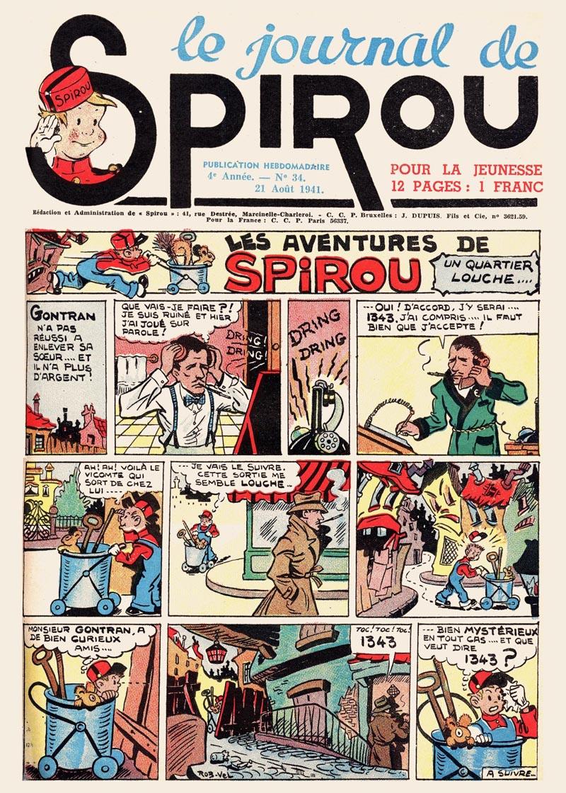 Le journal de Spirou 175