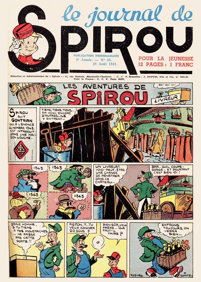 Le journal de Spirou 176