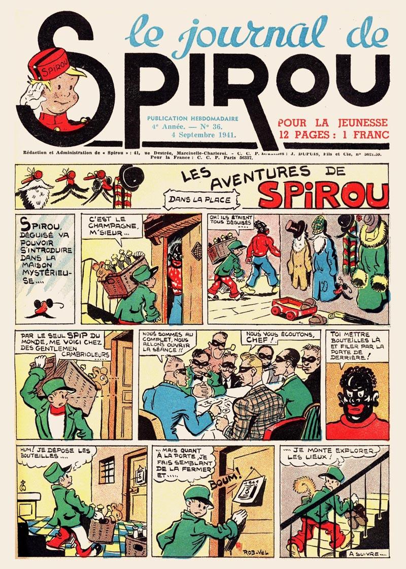 Le journal de Spirou 177