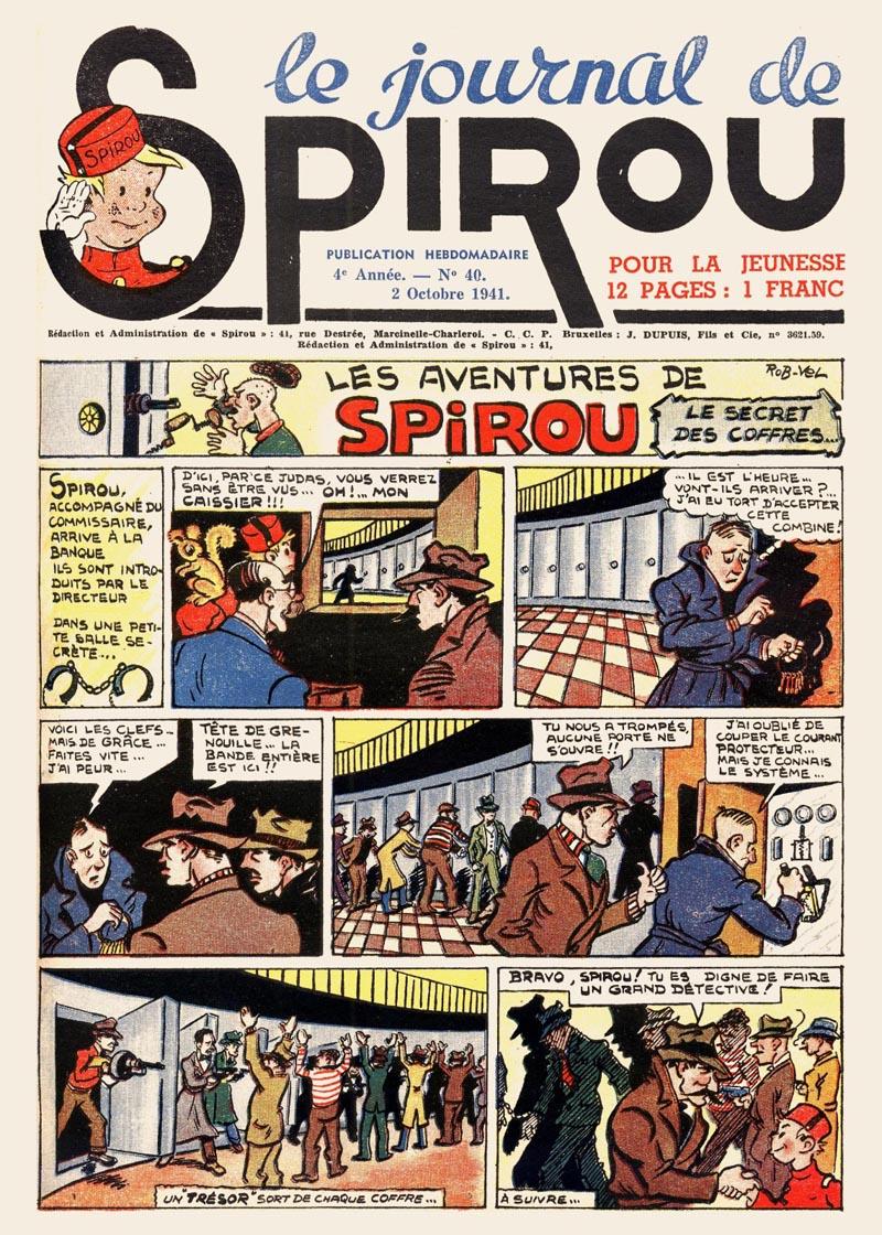 Le journal de Spirou 181
