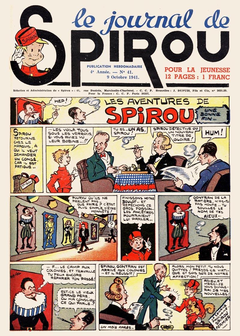 Le journal de Spirou 182