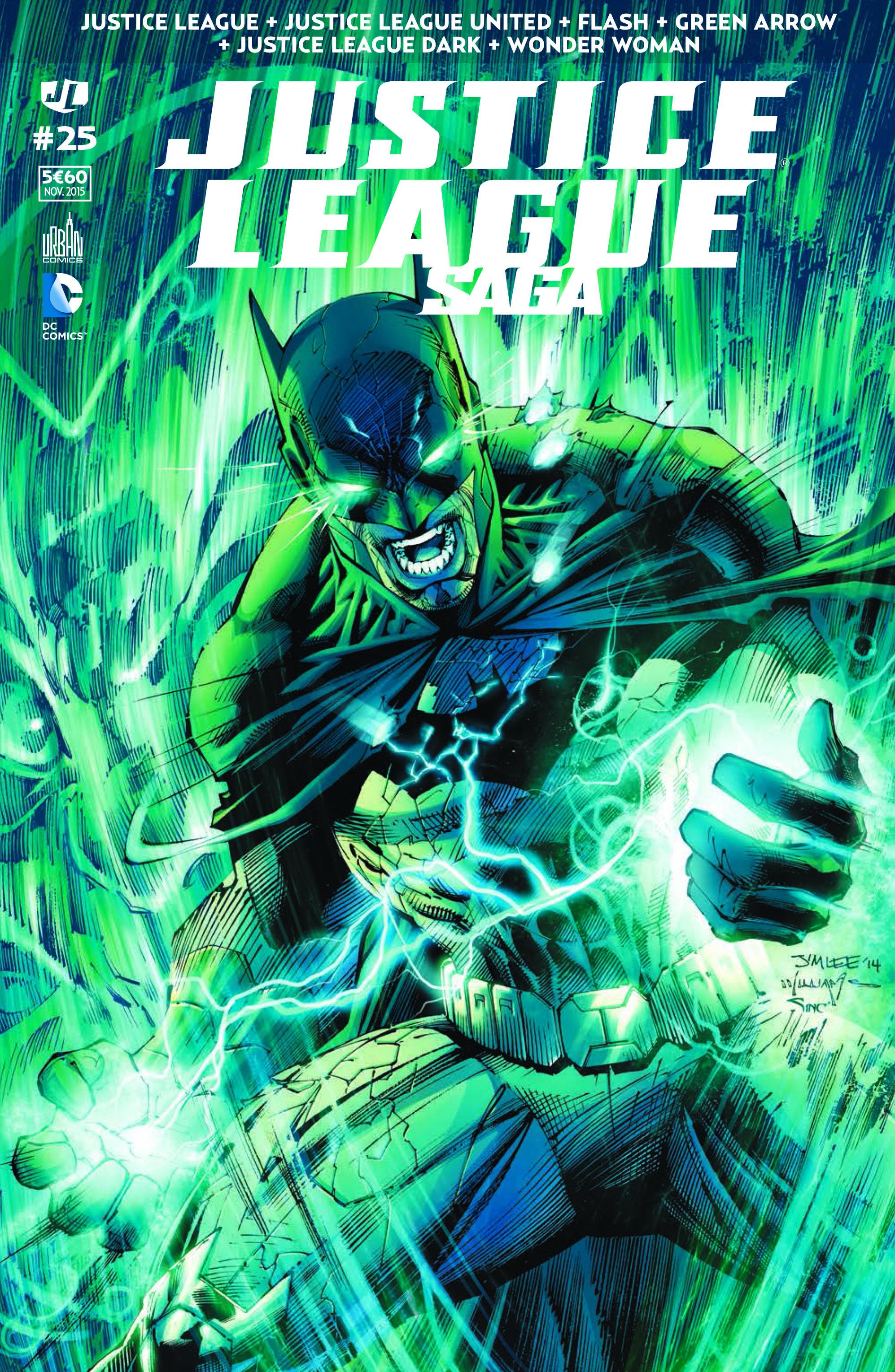 Justice League Saga 25