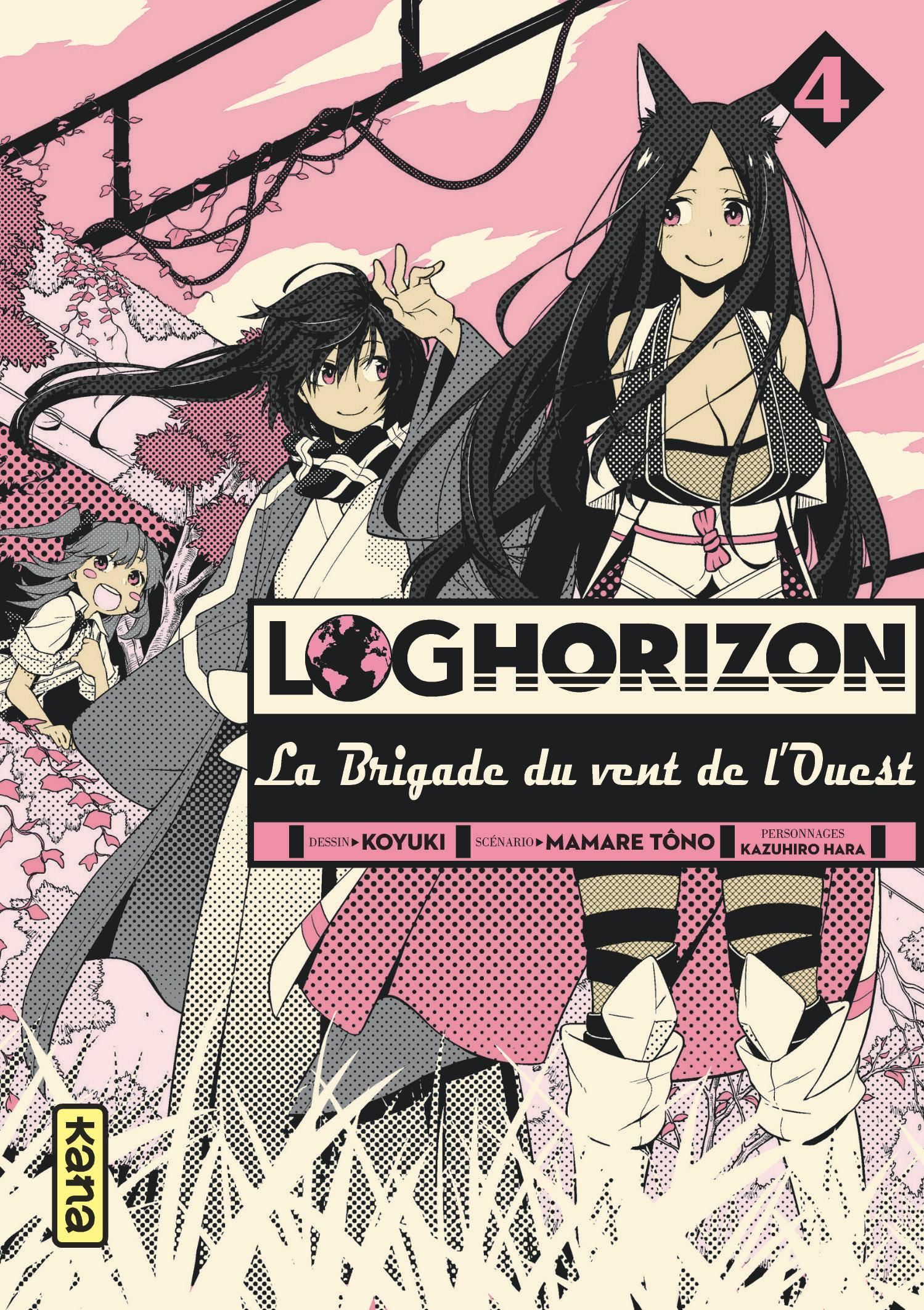 Log Horizon - La brigade du vent de l'Ouest 4