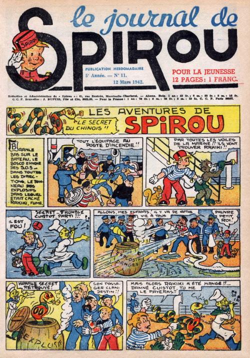 Le journal de Spirou 204
