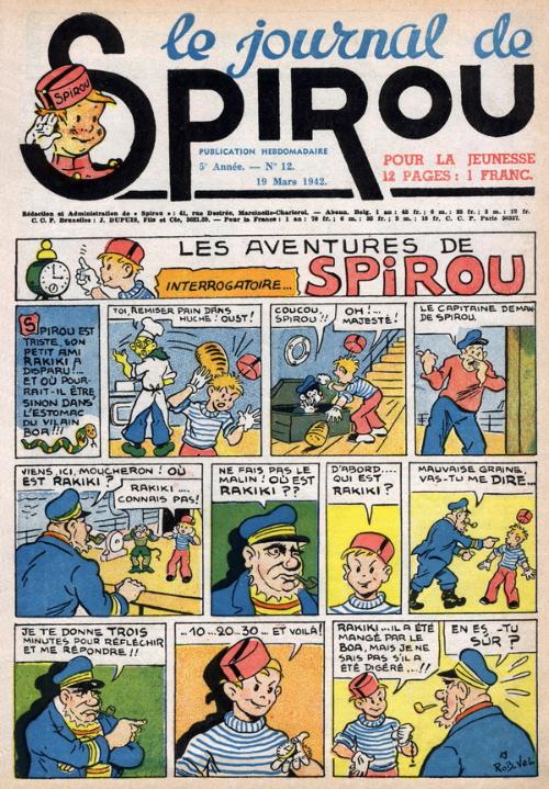 Le journal de Spirou 205