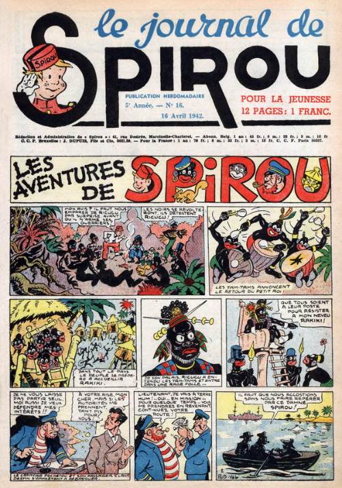 Le journal de Spirou 209