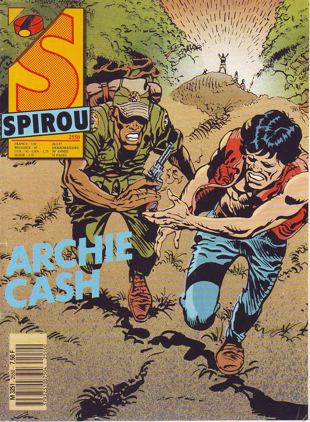 Le journal de Spirou 2550