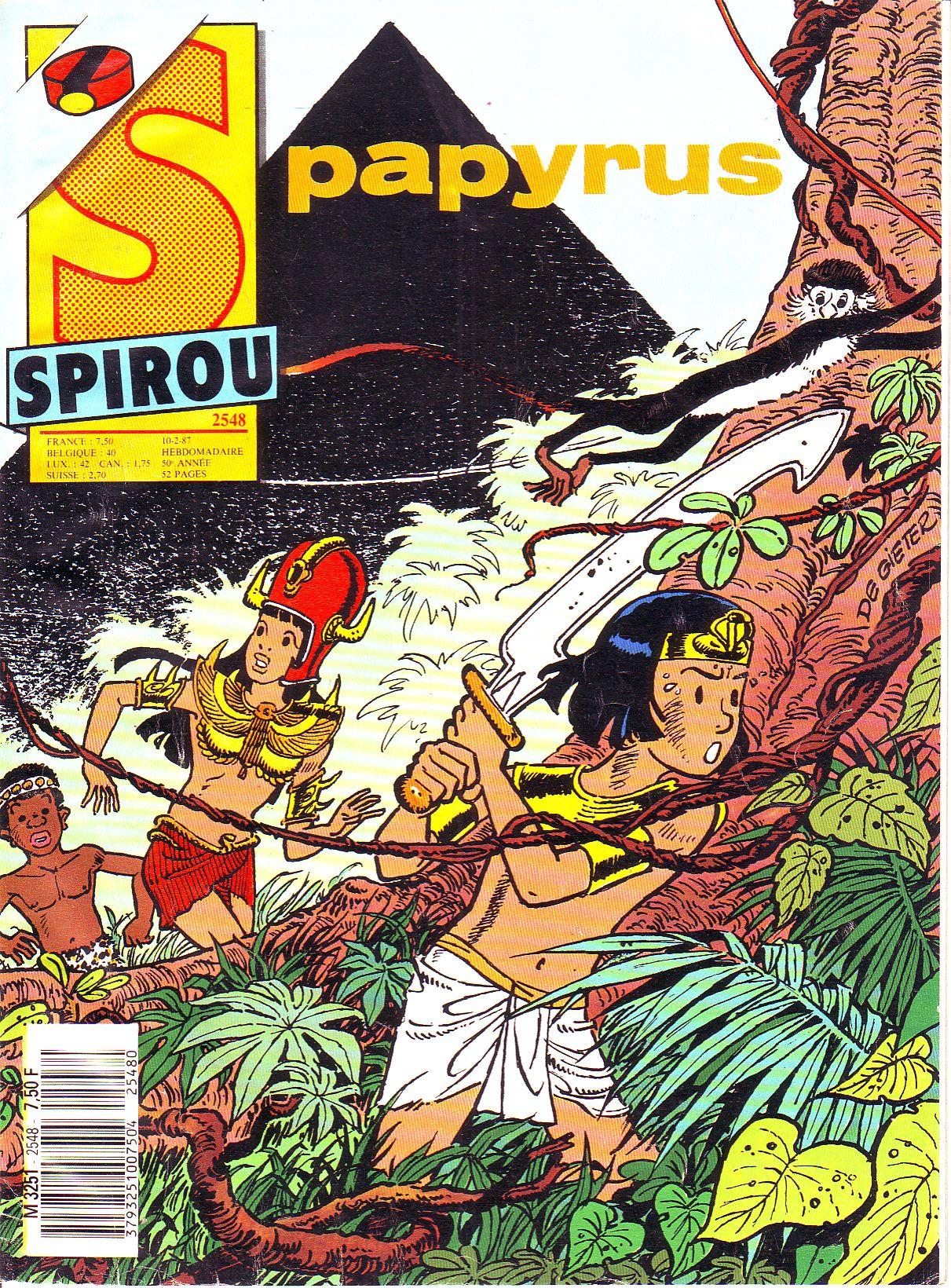 Le journal de Spirou 2548