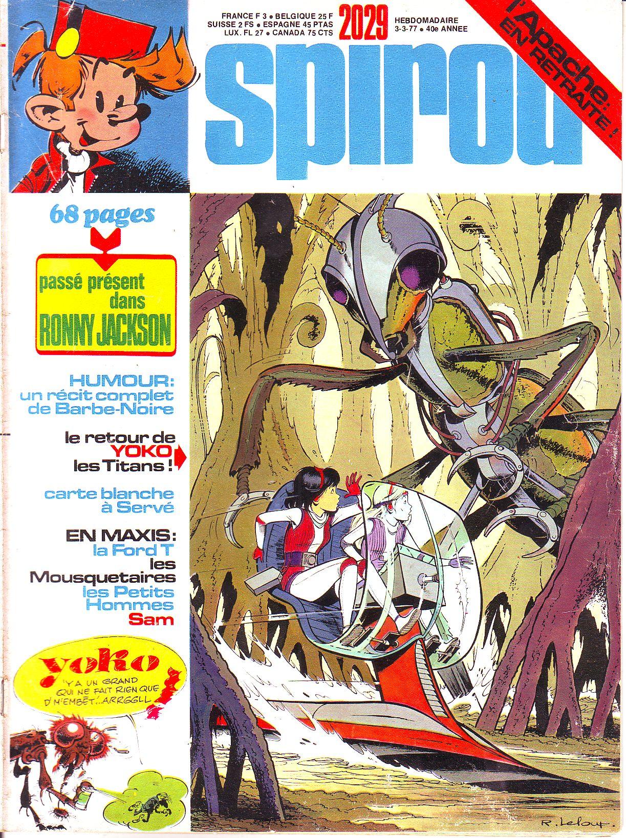 Le journal de Spirou 2029