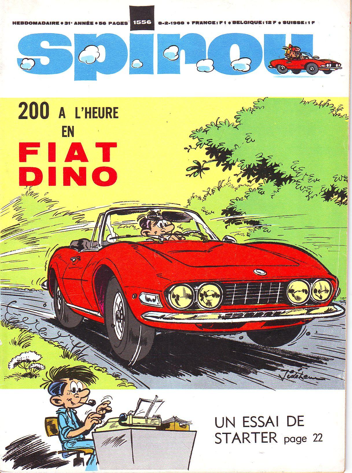 Le journal de Spirou 1556