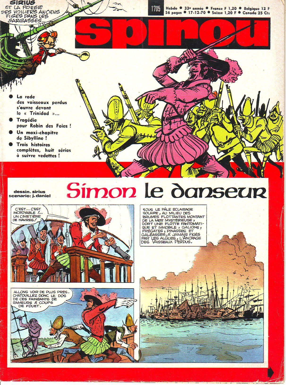 Le journal de Spirou 1705