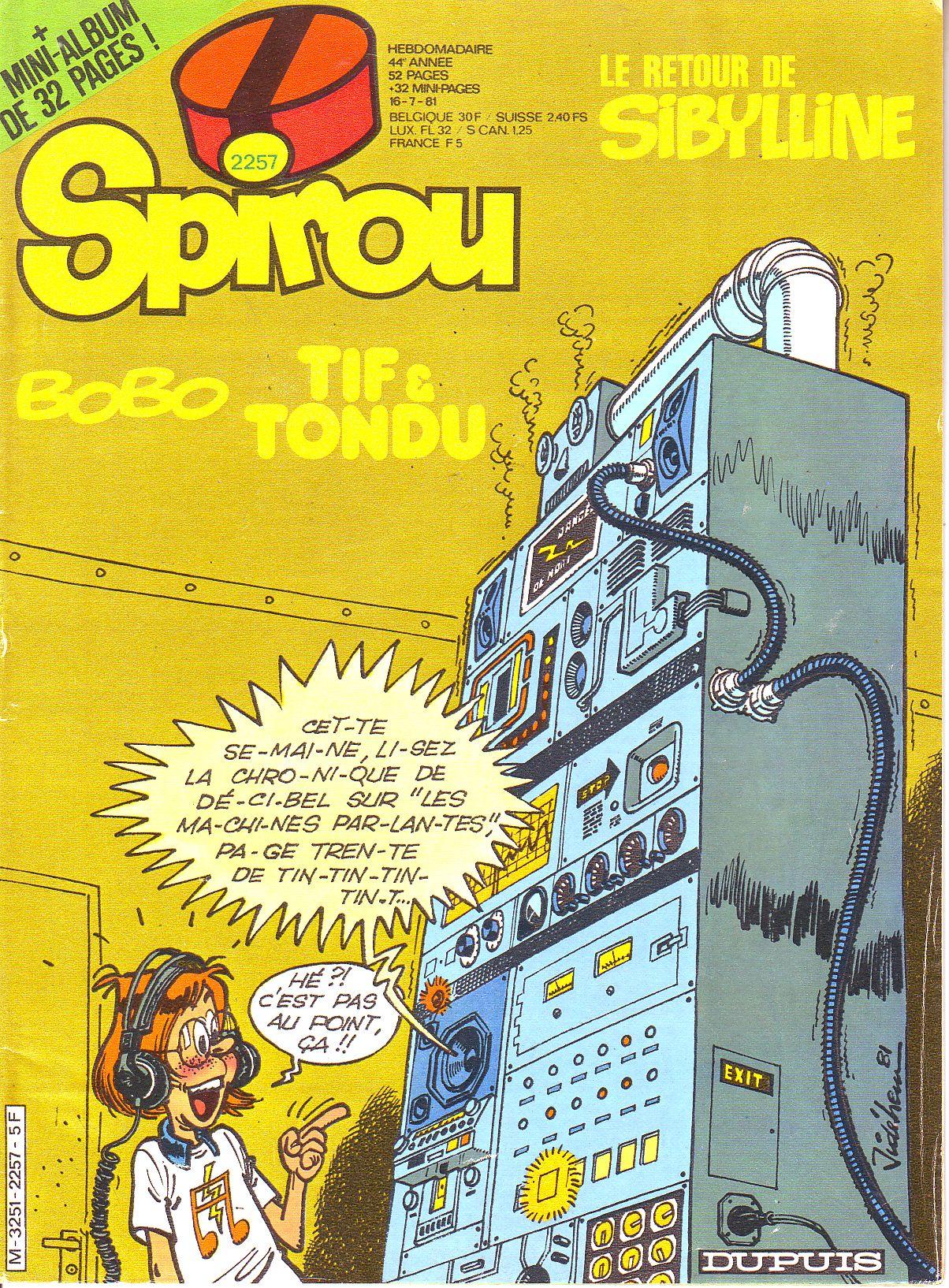 Le journal de Spirou 2257