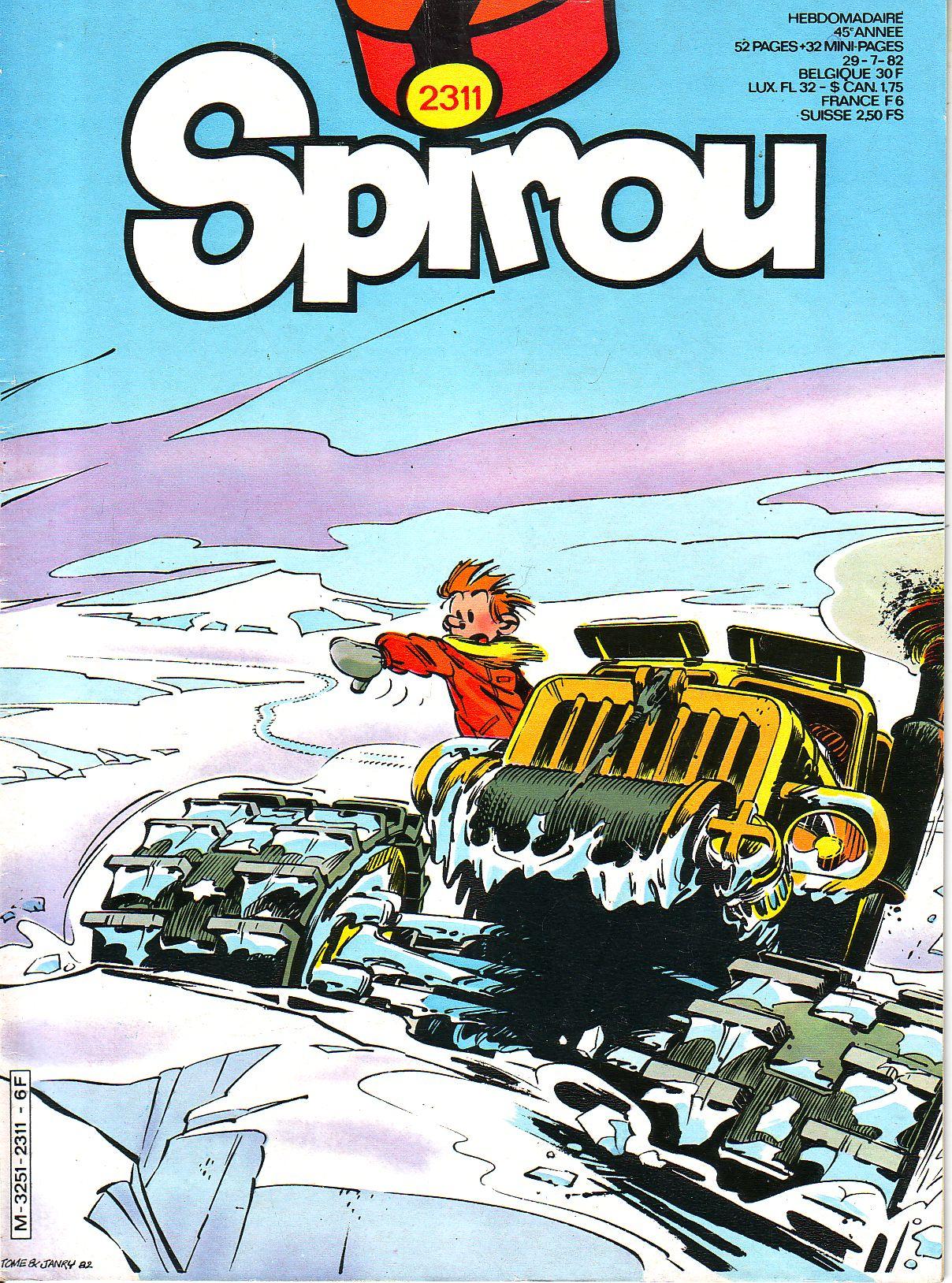 Le journal de Spirou 2311