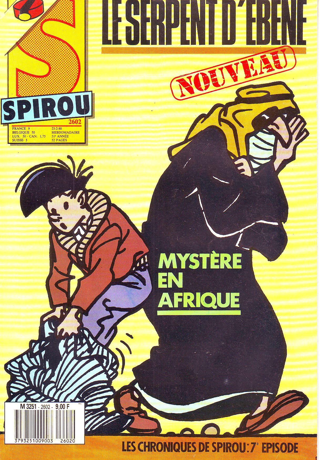Le journal de Spirou 2602