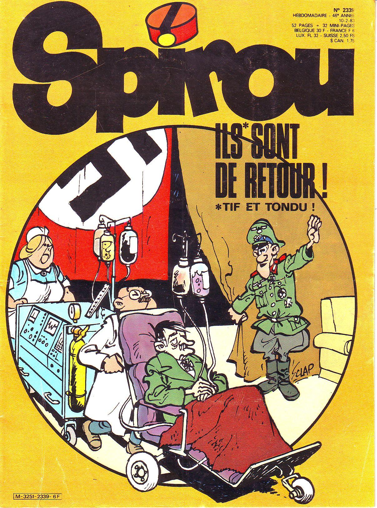 Le journal de Spirou 2339
