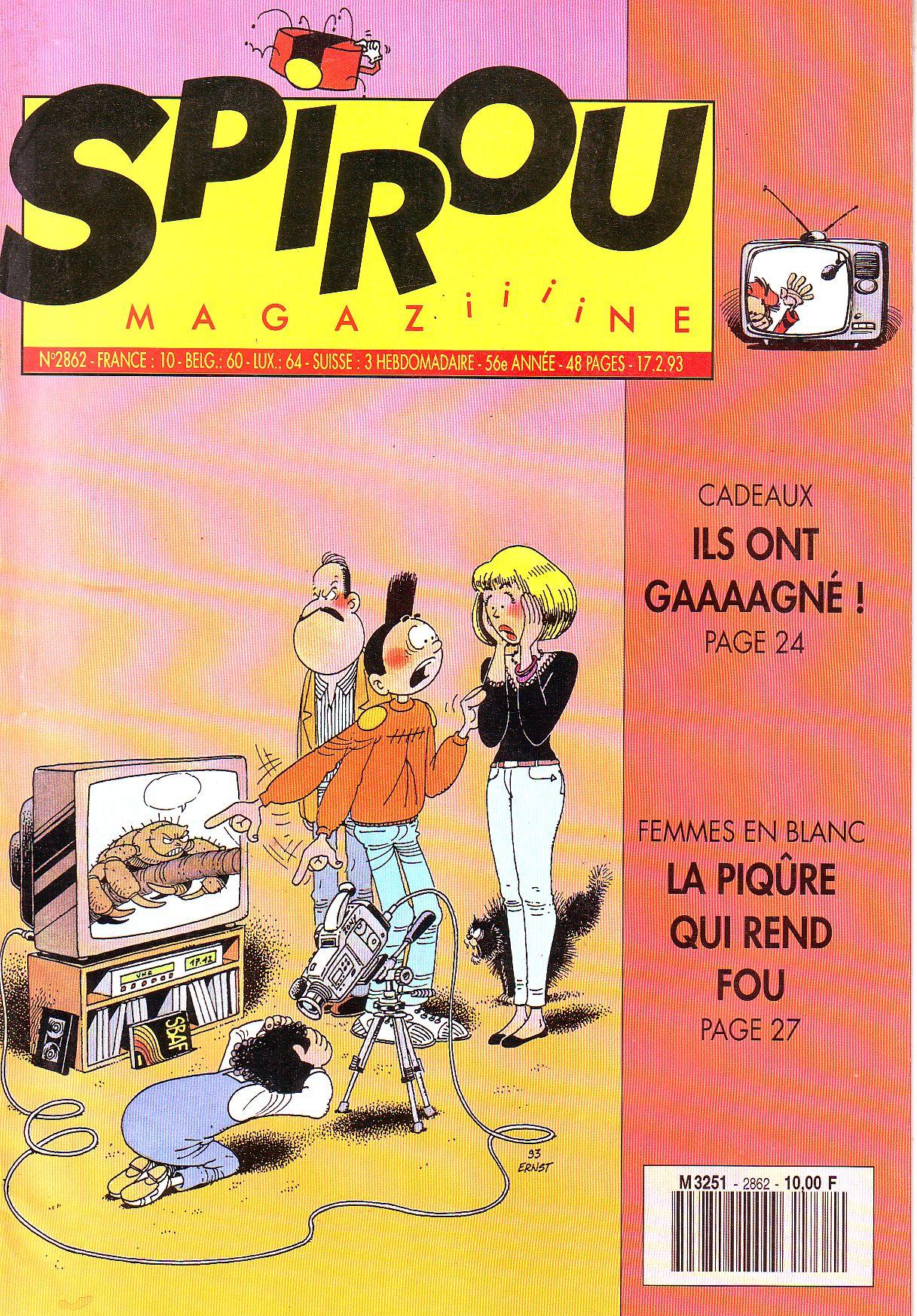 Le journal de Spirou 2862