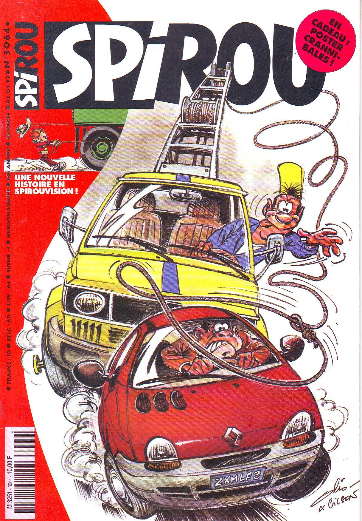 Le journal de Spirou 3064