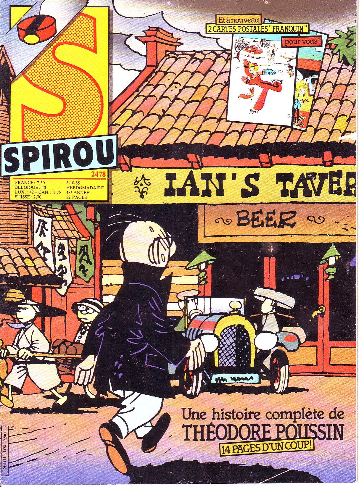 Le journal de Spirou 2478