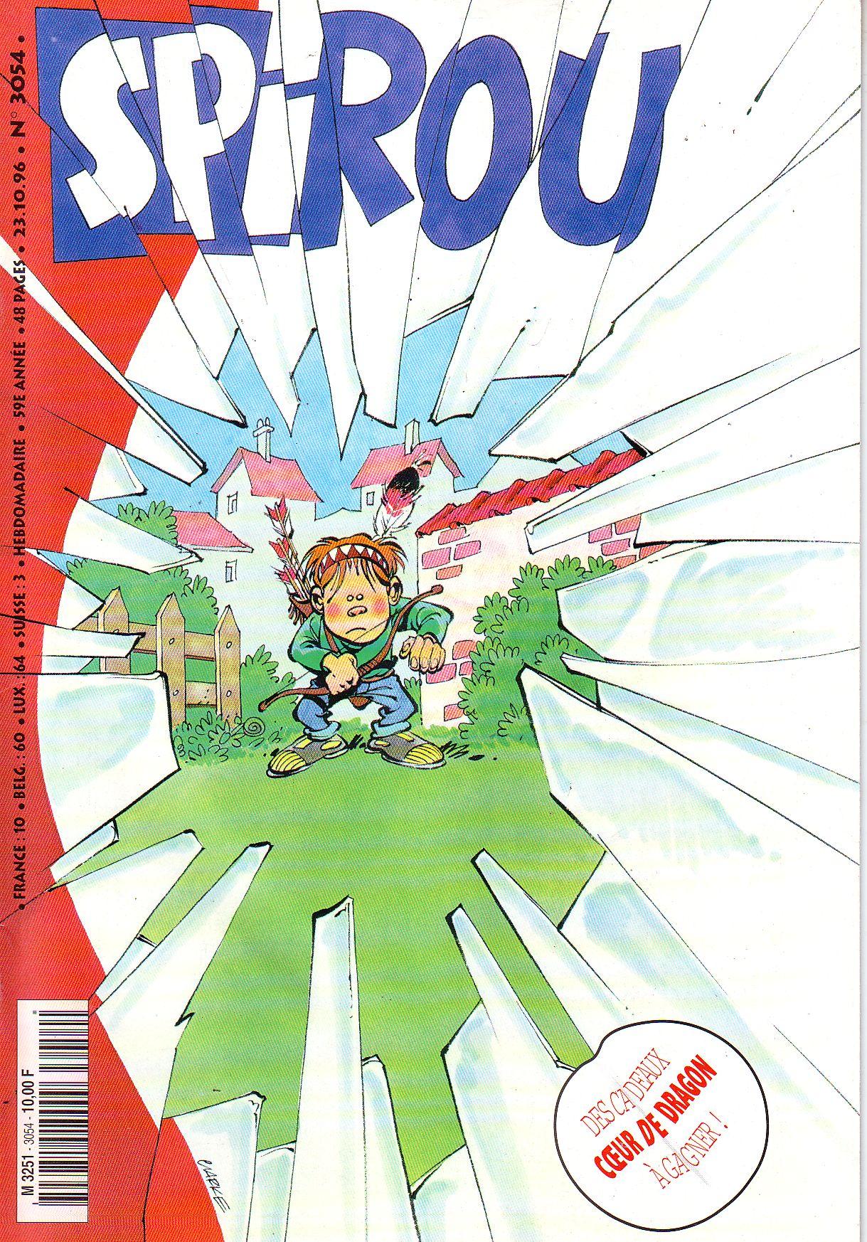 Le journal de Spirou 3054