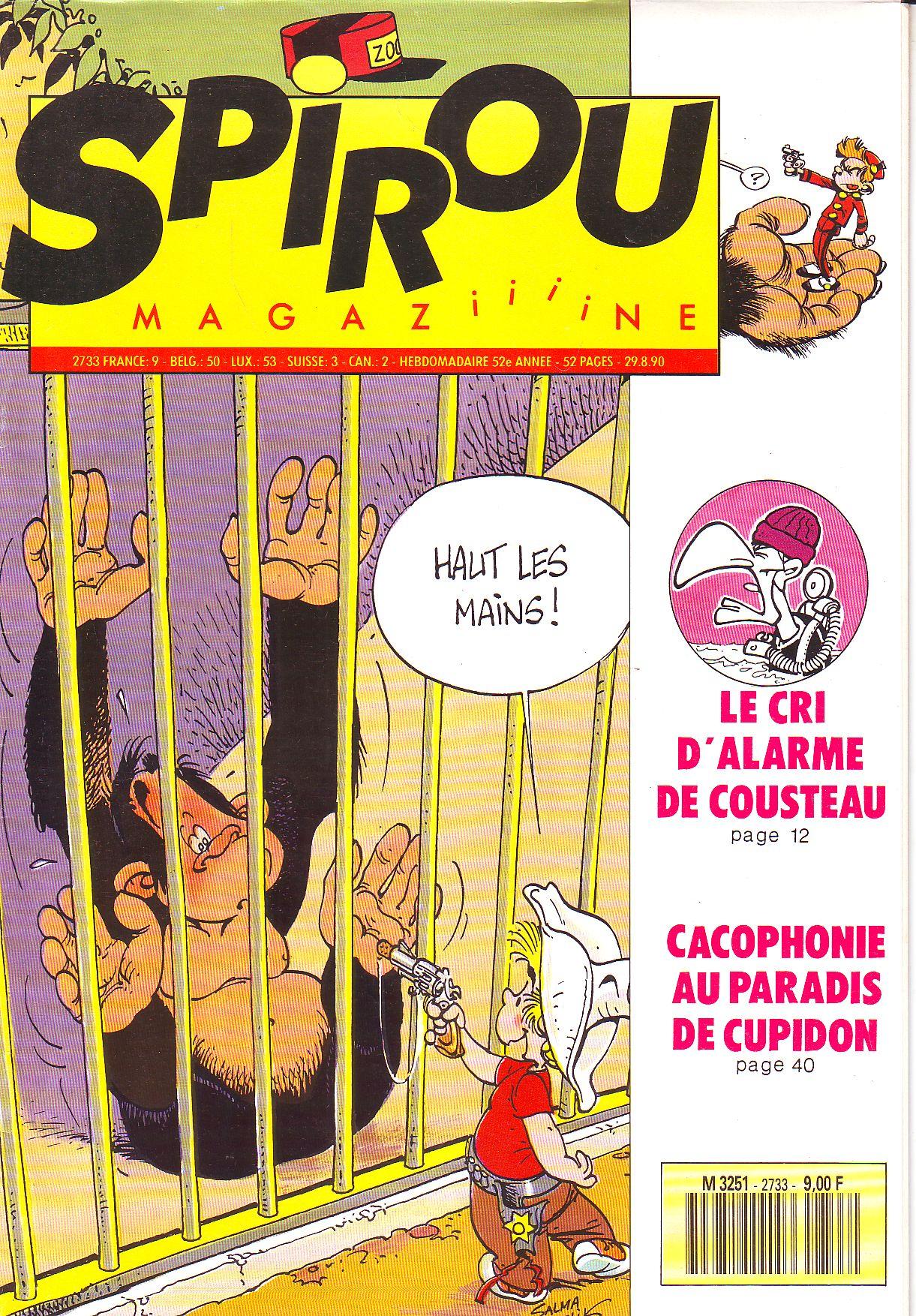 Le journal de Spirou 2733