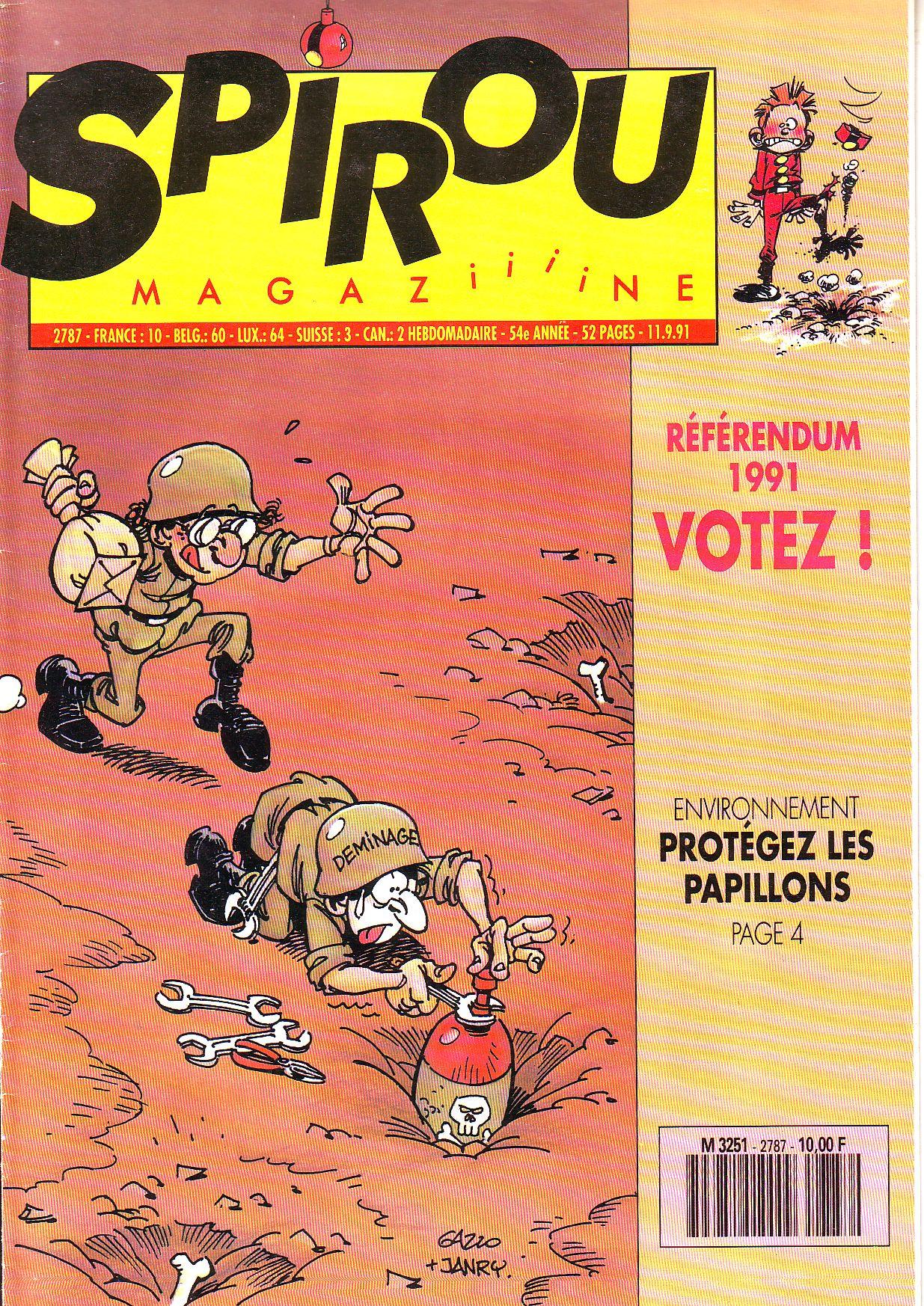 Le journal de Spirou 2787