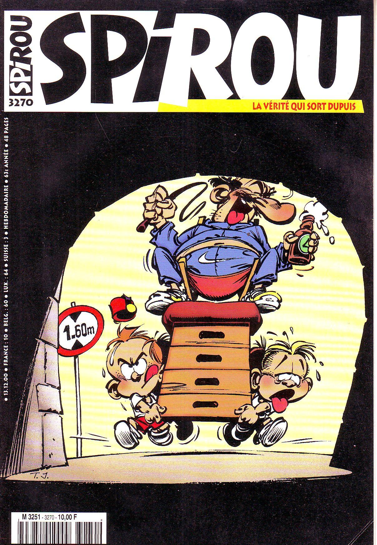Le journal de Spirou 3270
