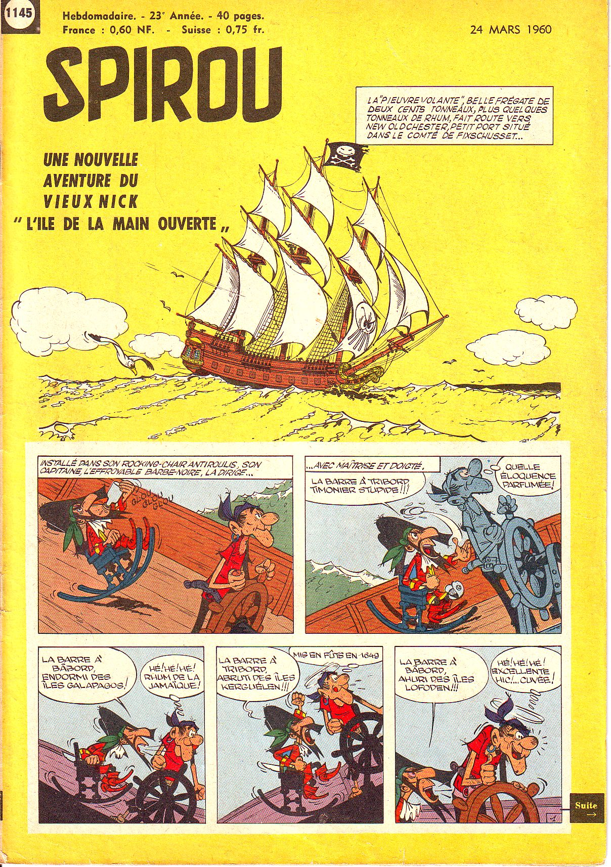 Le journal de Spirou 1145