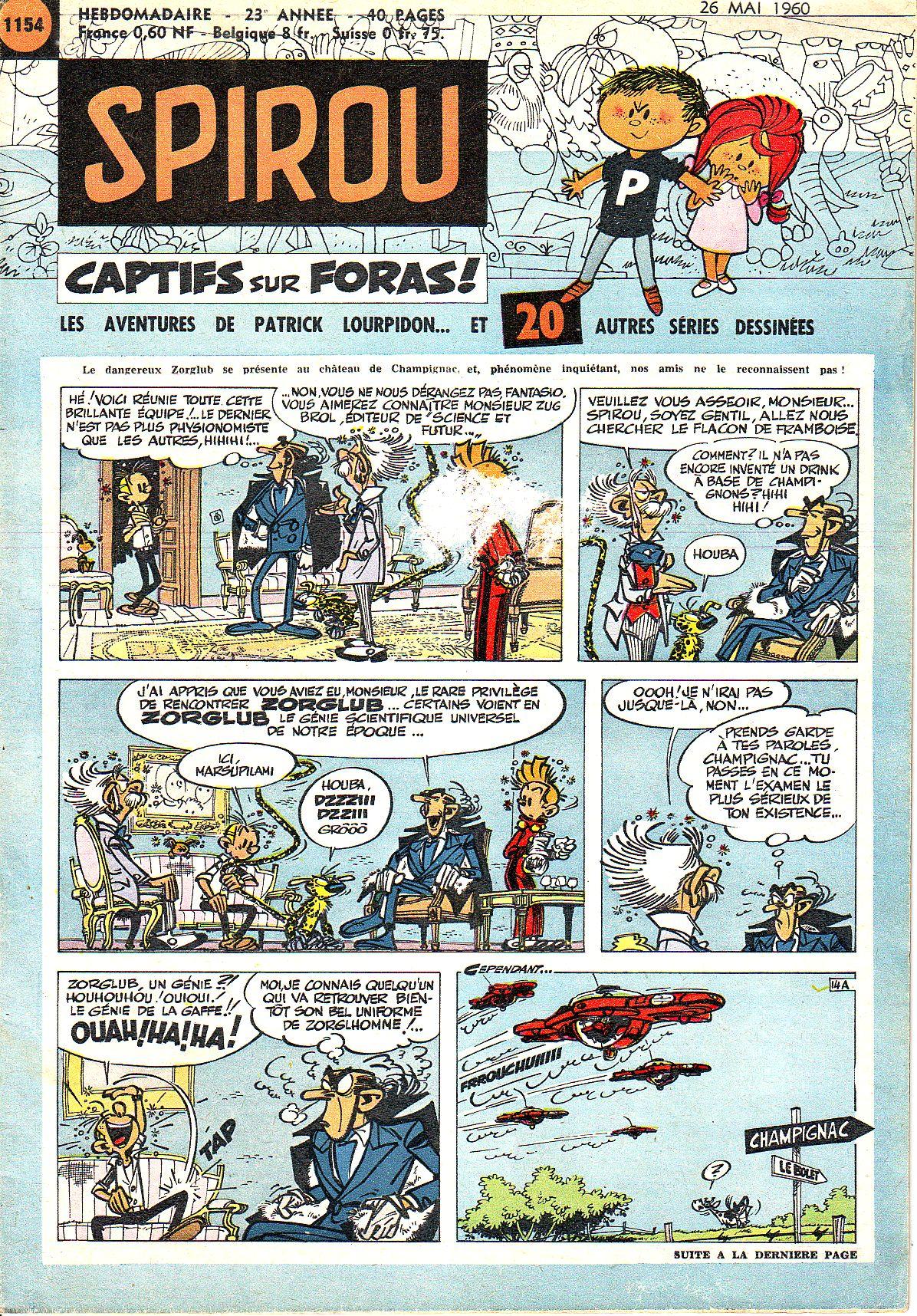 Le journal de Spirou 1154