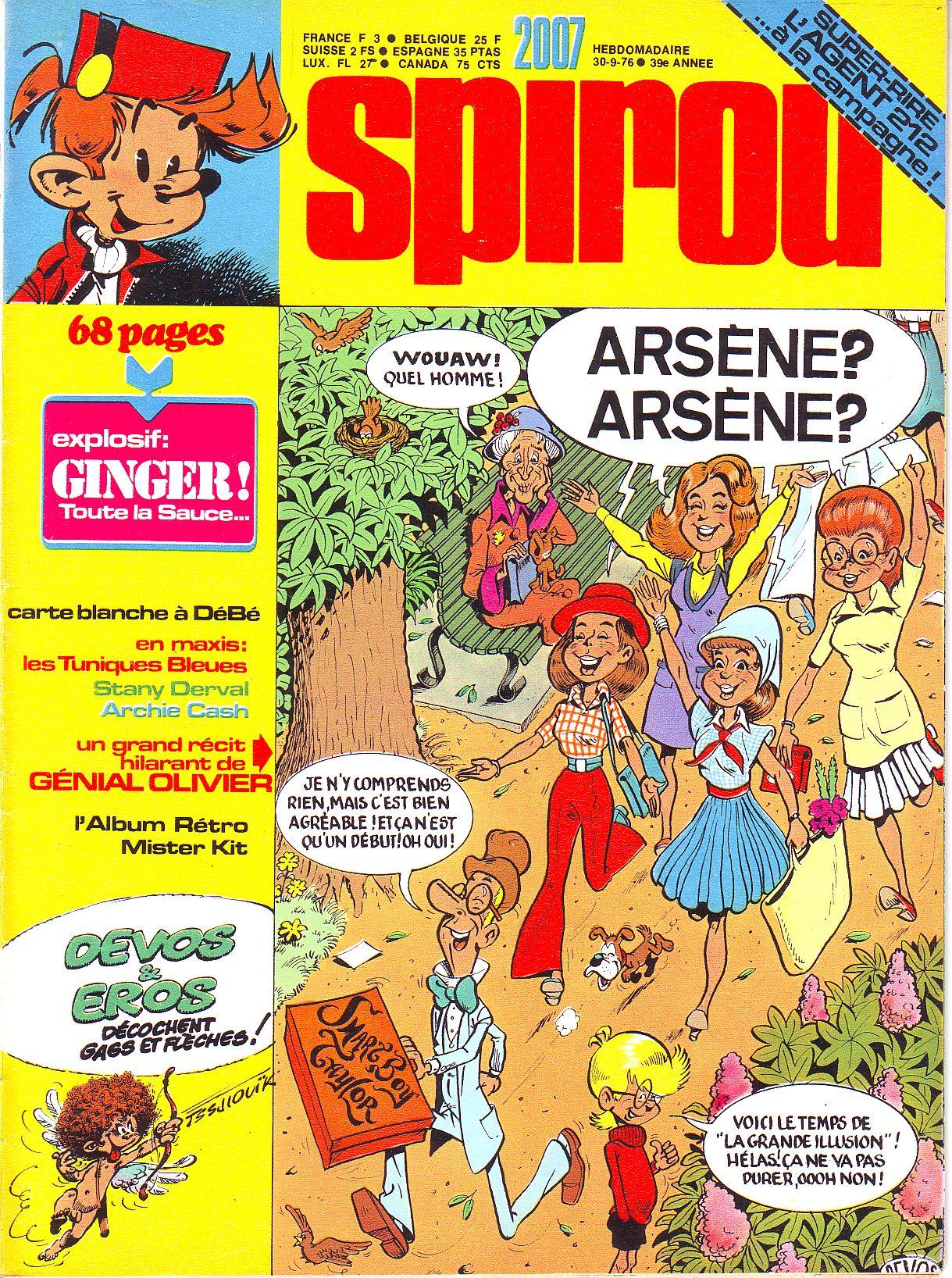 Le journal de Spirou 2007