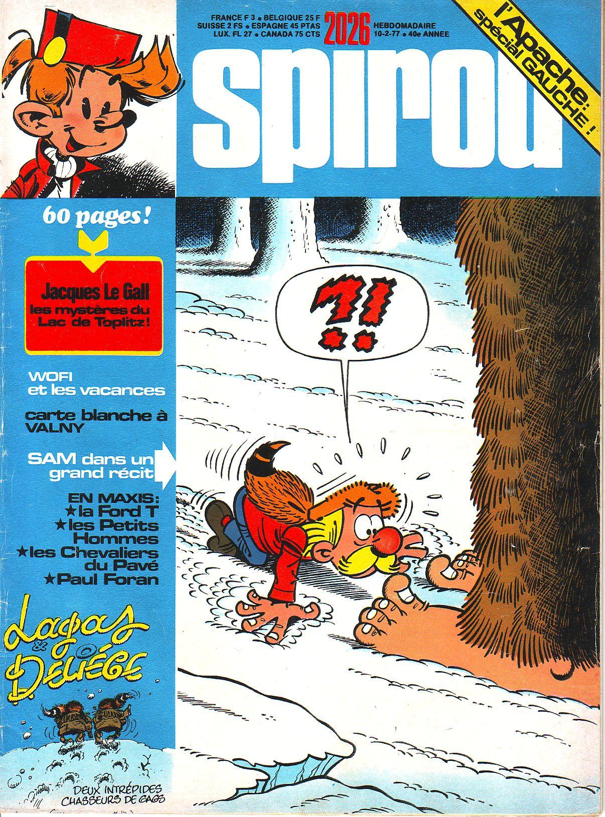 Le journal de Spirou 2026