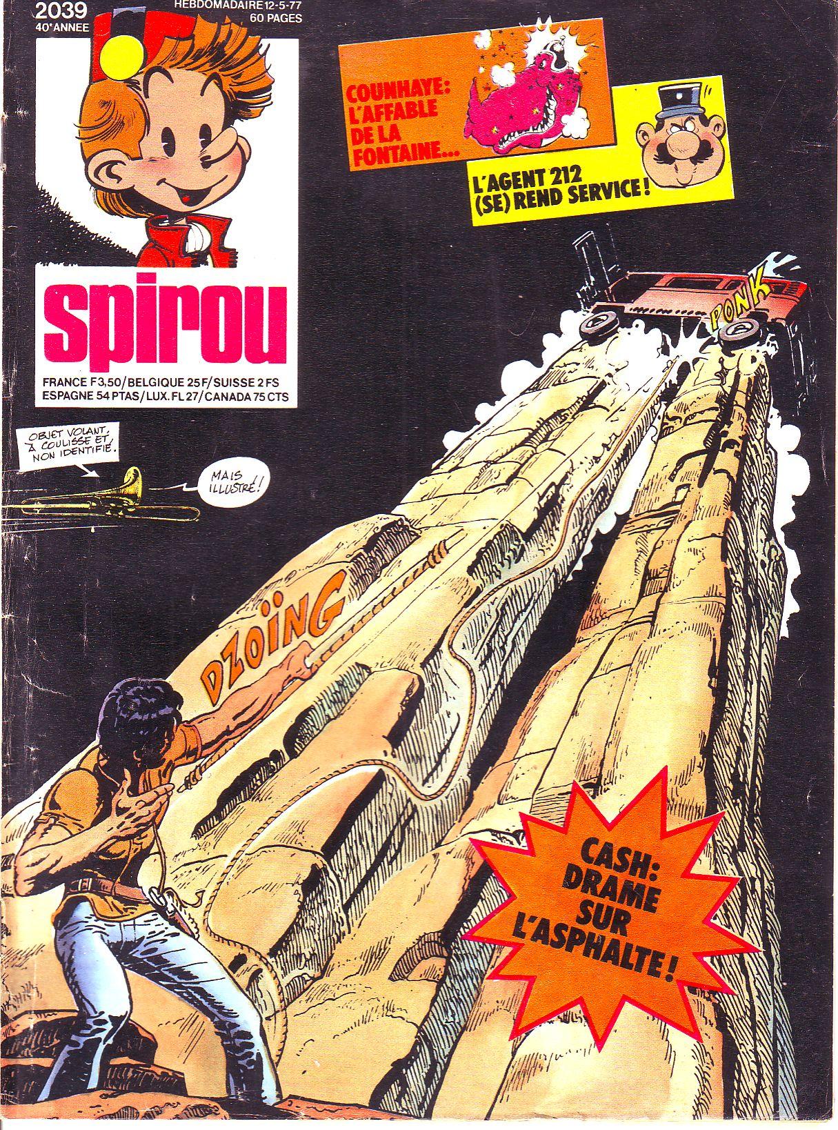 Le journal de Spirou 2039