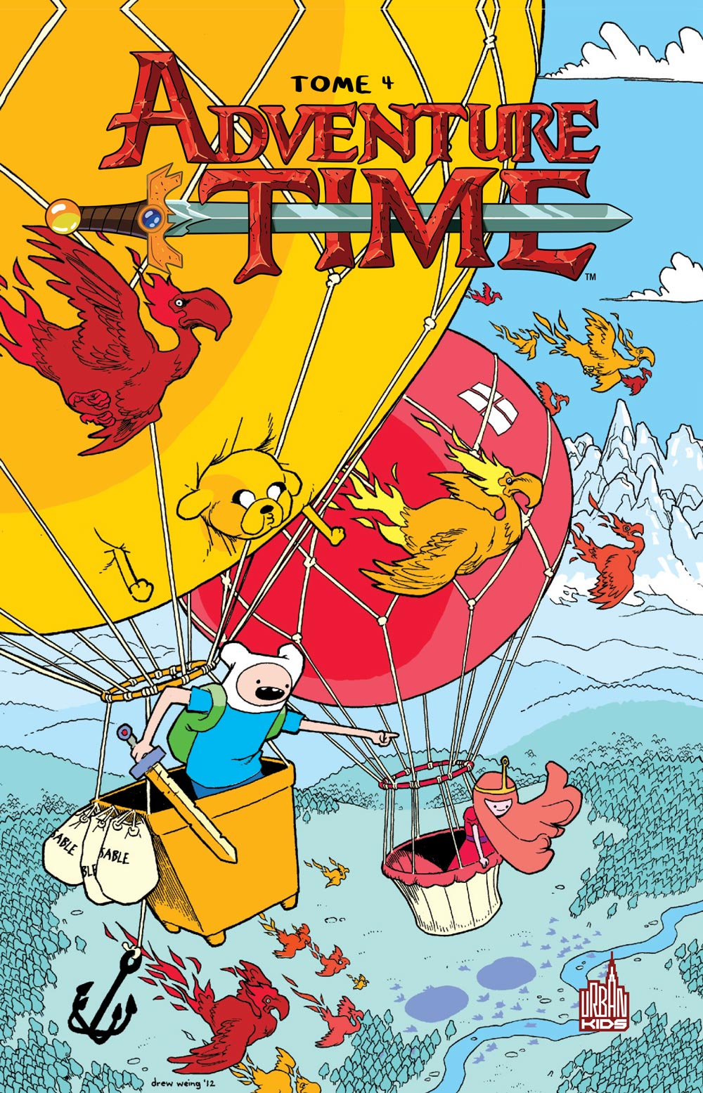 Adventure time 4 - Adventure Time - Tome 4