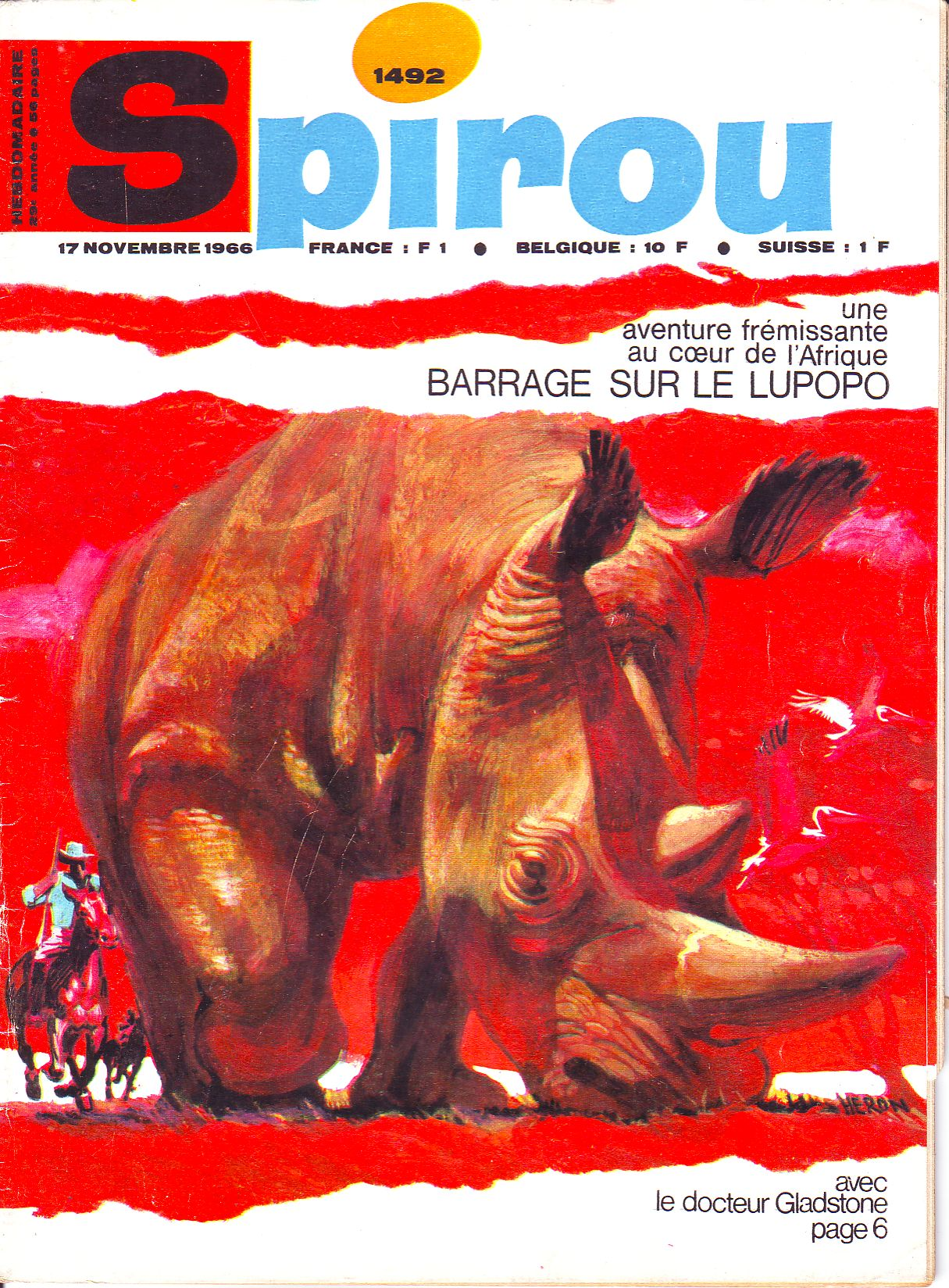 Le journal de Spirou 1492