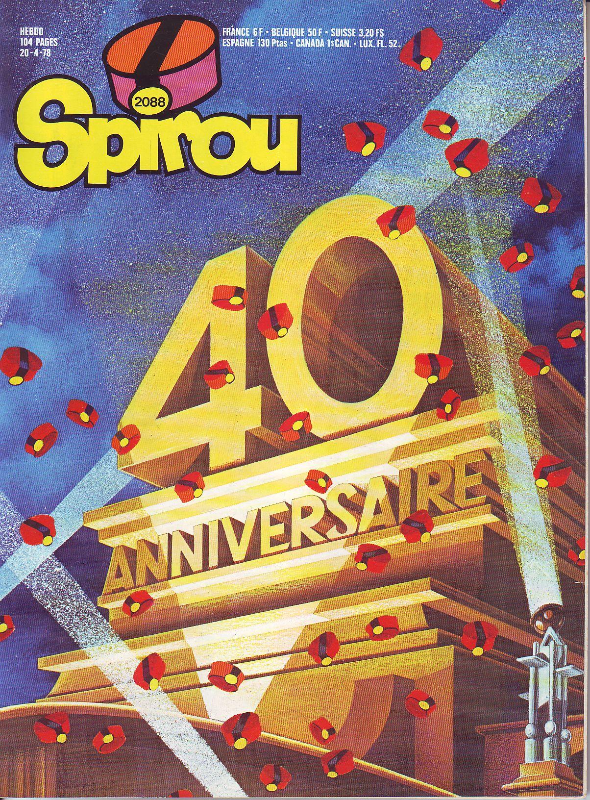 Le journal de Spirou 2088