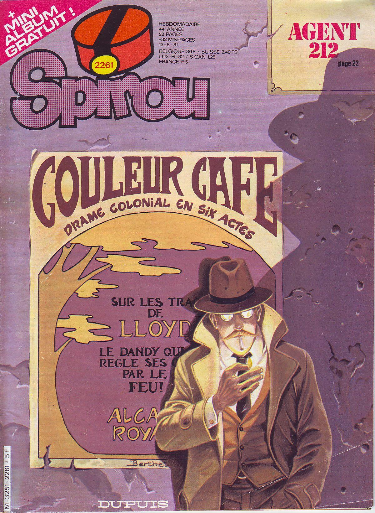 Le journal de Spirou 2261