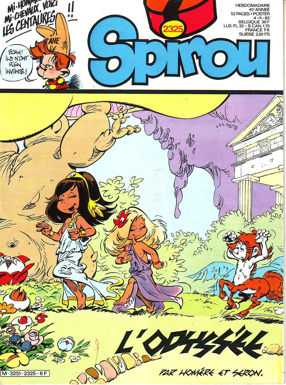 Le journal de Spirou 2325